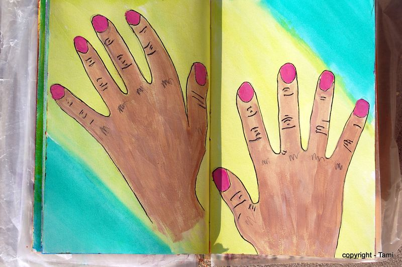 Hands take 1